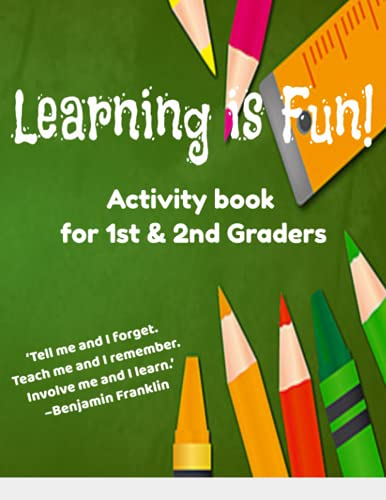 Learning is Fun: Activity book for 1st & 2nd Graders