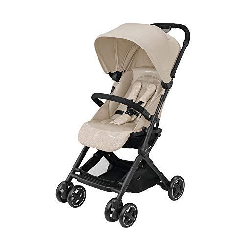 Bébé Confort Lara Passeggino Pieghevole Ultra Compatto, Unisex Bambini, dalla nascita fino a 3.5 anni/0-15 kg, Beige (Nomad Sand)