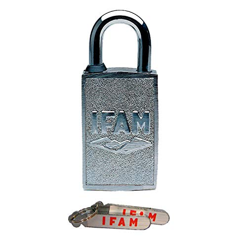 IFAM Mag40 (000650) – Candado magnético antivandálico, 40mm, arco acero endurecido diámetro 7mm, 2 llaves magnéticas