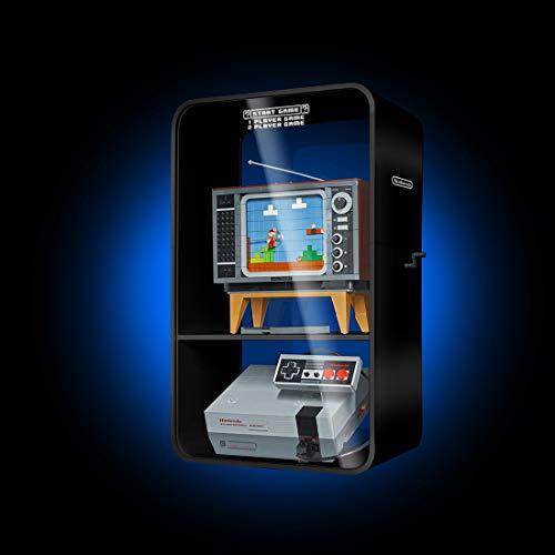 DAN DISCOUNTS Acryl Schaukasten Vitrine Display Case Schaukasten Boxen für Lego Nintendo Entertainment System 71374 (Ohne Lego Modell)
