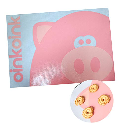 KAIKUN Macarons backmatte silikon backmatte Silikonmatte Ofenauskleidungen für den Boden des Ofens Silikon-Backbleche Antihaft-Backblech Silikonbackmatten
