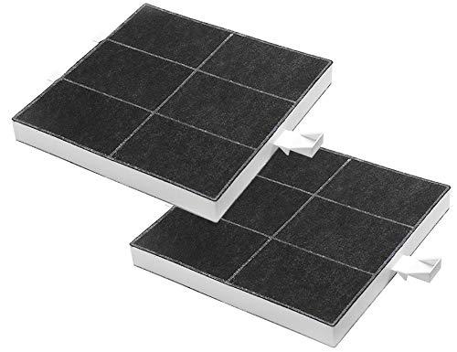 AquaHouse Aktivkohlefilter für Dunstabzugshauben von Bosch Neff Siemens Constructa Balay 00360732, 00357585, 360732, 2 Stück