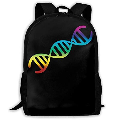 ADGBag DNA Fashion Outdoor Shoulders Bag Durable Travel Camping for Kids Backpacks Shoulder Bag Book Scholl Travel Backpack Sac à Dos pour Enfants