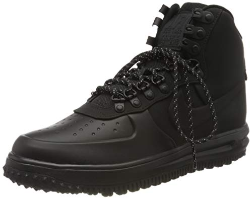 Nike Men's Lunar Force 1 Duckboot 18 Bq7930-00 Hi-Top Trainers, Black (Black Bq7930-003), 7.5 UK