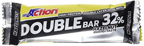 ProAction Double Bar (nocciola caramello, confezione da 20 barrette da 60 g)