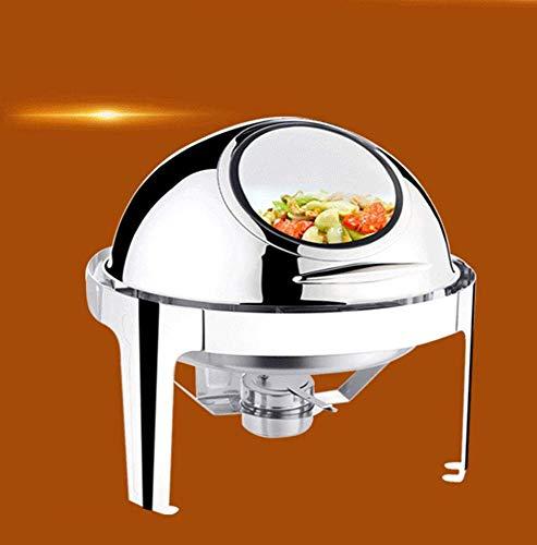 Warmhalteplatte Rechaud Buffet Wärmer Buffetwärmer Speisewärmer 3 x 1,5 l