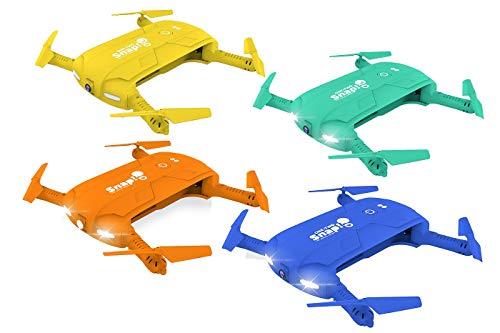 Twodots - Two dots snap the social drone cam hd 1mpx con giroscopio stabilizzatore a 6 assi colore blu