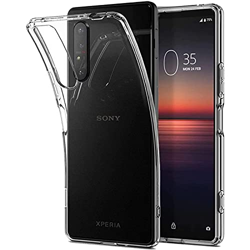 Verco Handyhülle für Sony Xperia 5 III Case, Handy Cover für Sony 5 III Hülle Transparent Dünn Klar Silikon, durchsichtig