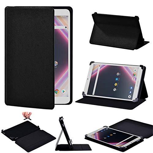 PIANYIHUO Caja de la tabletaEstuche para Tableta, para Acceso 101 3g / 101/101 S / T80 / Estuche para Tableta de Cuero de 10.1 Pulgadas