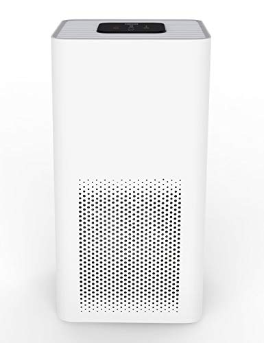 TOPPIN Air Purifiers for Home - H13 True HEPA Filter for Bedroom Up to 195ft², 21dB Ultra-Silent Air Cleaner for 99.97% Allergies, Pets Hair, Dander, Pollen, Smoke, Dust, Odors