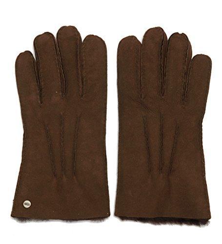 UGG Handschuhe Braun Wildleder