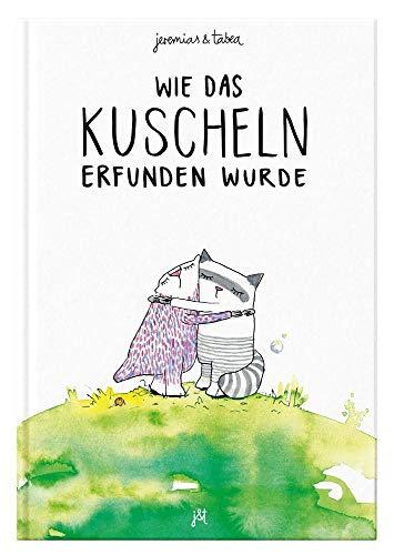 Wie das Kuscheln erfunden wurde: Bilderbuch inkl. Malbuch für 2 / 3 / 4 / 5 / 6 Jahre - Kinderbuch zum Vorlesen von Jeremias & Tabea