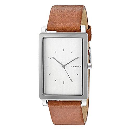 [スカーゲン]SKAGEN メンズ ハーゲン レクタンギュラー シルバー ブラウンレザー SKW6289box 腕時計 [並行輸入品]