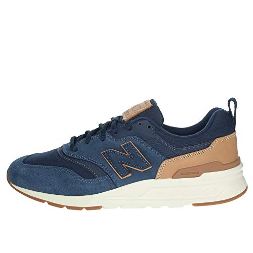 New Balance CM997HAD, Trail Running Shoe Hombre, Azul Azul Marino Marrón, 32 EU