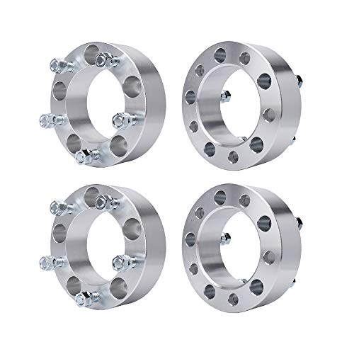 """BRTEC 4pcs Wheel Spacers for 2003 2004 2005 2006 Ford E-150 1994 1995 1996 1997 1998 1999 2000 2001 Dodge Ram 1500 Van 1993 1994 1995 1996 Ford F-150(2"""" Thick/5x5.5"""")"""