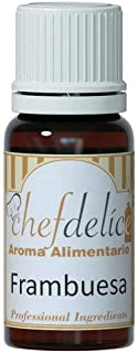 Chefdelice Chefdelice Aroma Concentrado Para Glaseados, Helados, Horneados Y Cremas Sabor Frambuesa, 10Ml Chefdelice 21 g