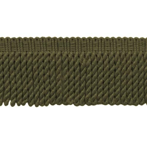 DecoPro BFSCR3 Knitted Knitted Bullion-Bordüre, 76 mm lang, Farbe: L50 pro Meter, 91 cm