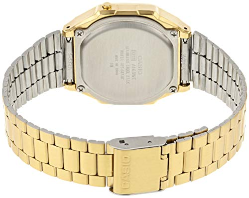 Casio Smart Watch Armbanduhr A168WEGM-9EF