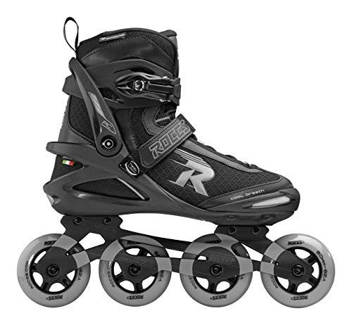 Roces Unisex– Erwachsene Pic TIF Inline Skate, Black-lightgrey, 46