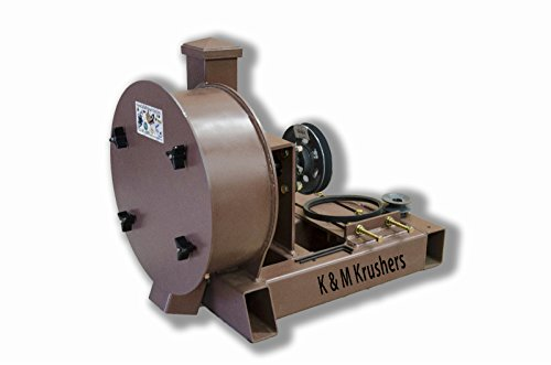 Fantastic Prices! Rock Crusher Gas-Gold Ore-11 Drum 2-1/2 Infeed-Rockwell #58 Hammers No Motor