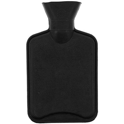Promobo - Bouillotte Douceur Antan Rétro Coussin Chauffant 500ml Noir