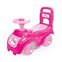 They can carry their small toys with them inside the storage box under the seat when they go off on their adventures. Also features a play phone and push button horn with sound effects Suitable for ages 12 Months + Whether sitting in the driving seat...