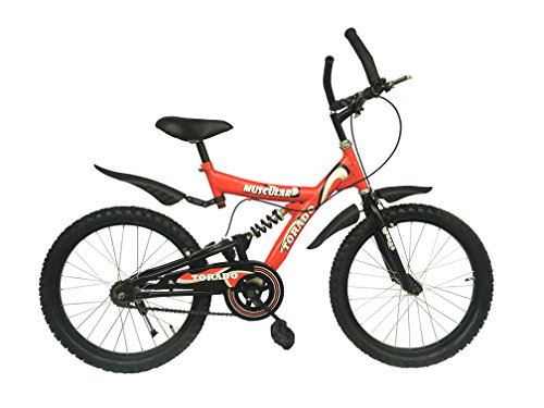 TORADO Steel Muscular 20 Inch Bicycle for Boys(Red)