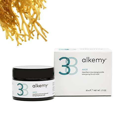 ALKEMY Mascarilla Facial Hidratante y Purificante – a base de Alga Klamath para una limpieza profunda, anti puntos negros y poros dilatados – Dermatológicamente Testado - Face Mask 3.8