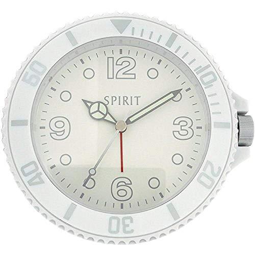 Spirit Spirit 255/5443 - Orologio da polso, cinturino in plastica colore bianco