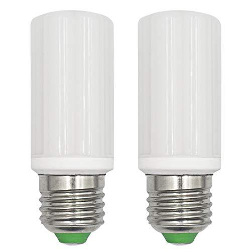 LED Lampen 6W E27 Corn LED Kleine Edison Schraube (Entspricht 60W-75W Halogen) AC 100-265V Nicht Dimmbar 6000K Kaltweiße Kerzenlampen, 2er Pack