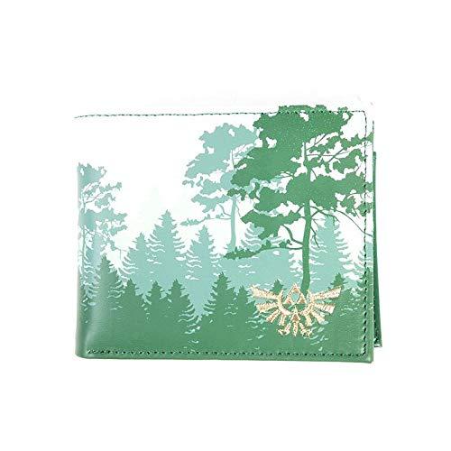 Star Wars Forrest Bi-Fold Wallet Monedero 16 Centimeters Verde