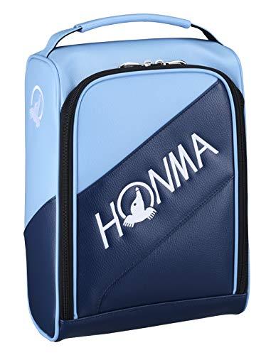 本間ゴルフ HONMA トーナメント プロモデル シューズケース サックス W24×H35×D15cm SC-12001 ネイビー