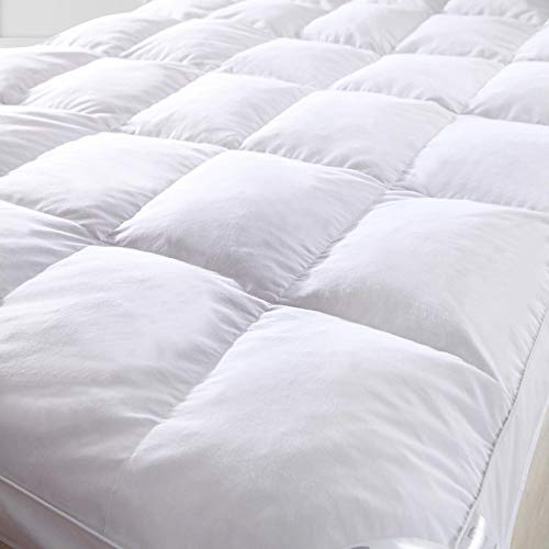 Artistic Hotel Quality GOOSE FEATHER AND DOWN MATTRESS TOPPER (Super King)