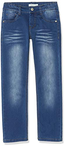 NAME IT Jungen Jeans NKMRYAN DNMTAZ 2158 Pant NOOS, Blau (Medium Blue Denim), (Herstellergröße:158)