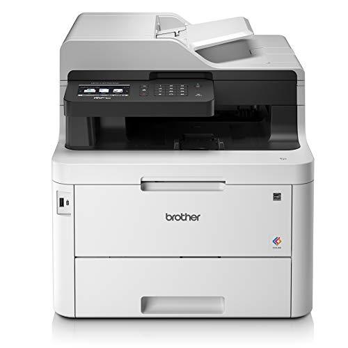 Brother MFC-L3770CDW Stampante Compatta Multifunzione a Colori 4 in 1, Bianco [Importato dalla Germania]