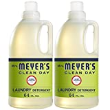 Mrs. Meyer's Clean Day Liquid Laundry Detergent, Cruelty Free and Biodegradable Formula, Lemon Verbena Scent, 64 oz -...