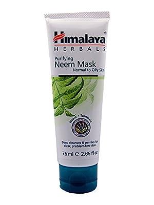 2 x Himalaya Herbals Purifying Neem Masks, 75 ml - Ayurvedic Beauty Products by Himalaya
