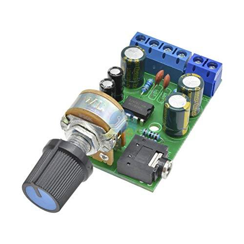 Release DC 1,8-12 V TDA2822M 2.0 Stereo-Audio-Verstärkerplatine Zweikanaliges AMP AUX-Verstärkerplatinenmodul Für Arduino