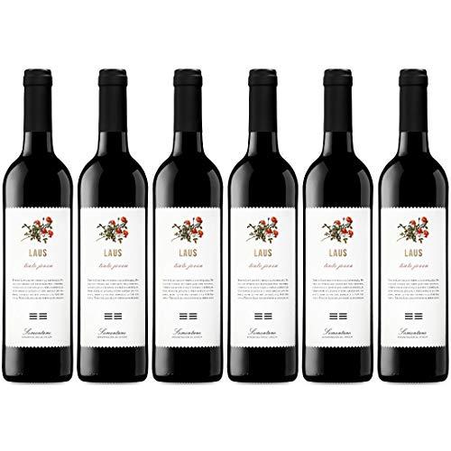 Laus Tinto Joven Vino Tinto  - 6 Botellas - 4500 ml