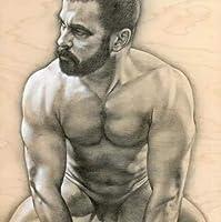 5dDiyダイヤモンドペインティングクロスステッチセットダイヤモンド刺繡裸の男性クリスタルスクエアラインストーンモザイク写真針仕事