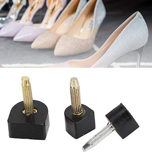 40 szt. wysokie obcasy antypoślizgowe szpilki zestaw do samodzielnej naprawy końcówek do butów damskich wysokie obcasy czółenka szpilki akcesoria do butów