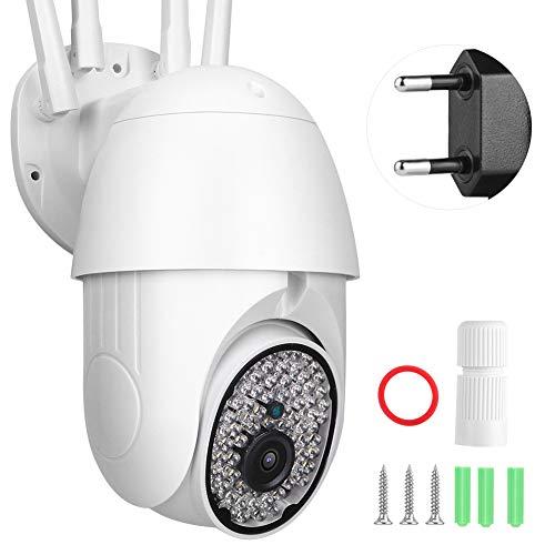 Cámara de Seguridad Red WiFi Seguridad 2 vías Domo CCTV Cámara Digital CA Empresas para hogares Lugares al Aire(European regulations)