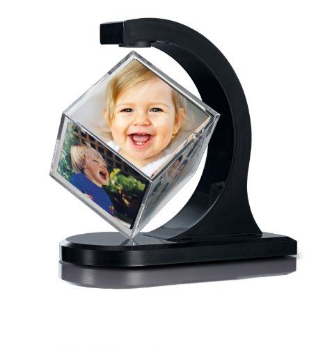 TV Unser Original 05531 - Cubo portafoto oscillante