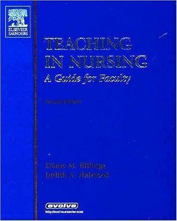 Teaching in Nursing -- A Guide for Faculty by Diane M. Billings EdD RN FAAN (2004-05-20)