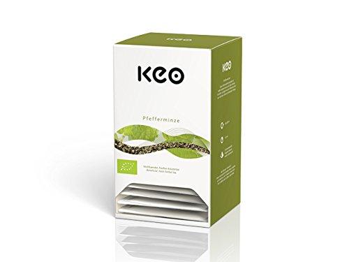 Keo Tee - PFEFFERMINZE BIO - 20 Pyramidenbeutel DE-ÖKO-006