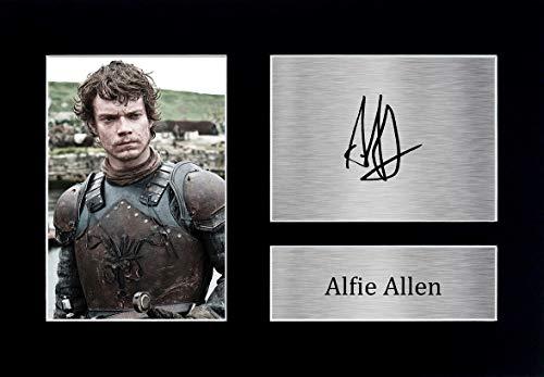 HWC Trading Alfie Allen - Fotografía Impresa (tamaño A4), diseño de Theon Greyjoy de Juego de Tronos