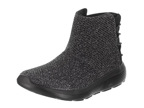 Skechers Womens On The GO City 2 - Vibrant Light Weight Ankle Chukka Boots Shoes Black Grey (9.5)