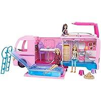 Barbie- DreamCamper Autocaravana, Multicolor, 41 x 81 cm (Mattel FBR34)