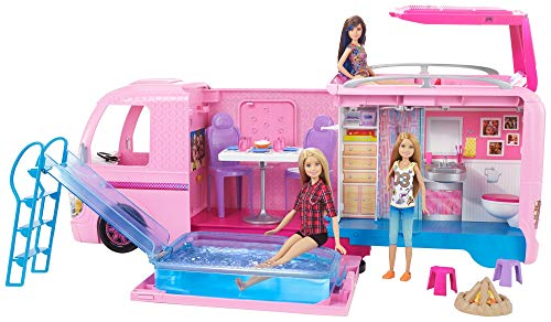 Barbie - Supercaravana de Barbie -  autocaravana barbie - (