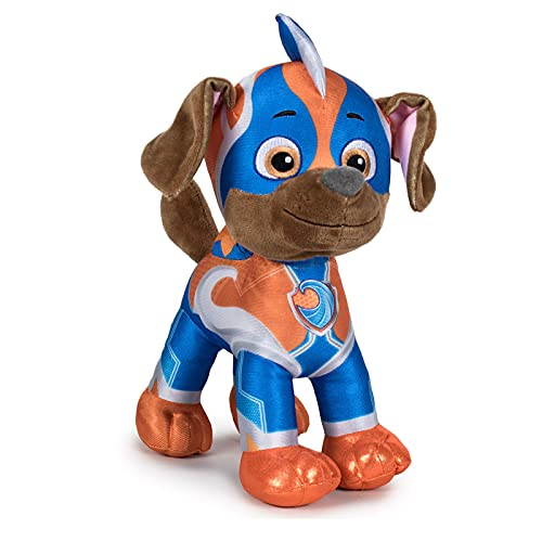 Peluche Zuma 28 cm Labrador Mighty Pups Article sous licence Paw Patrol de Play by Play